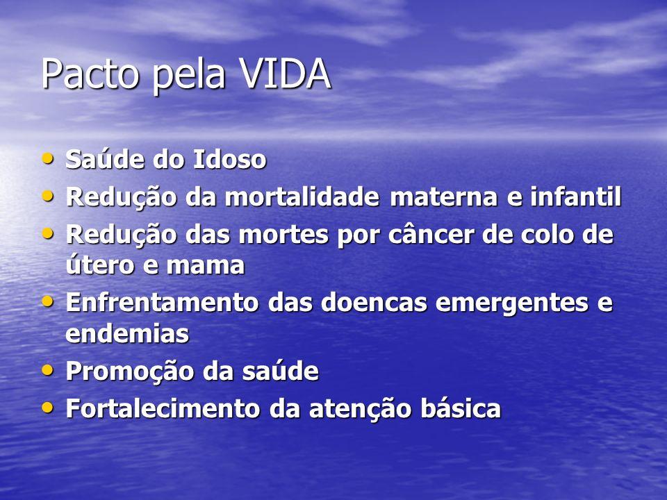 Pacto pela VIDA Saúde do Idoso