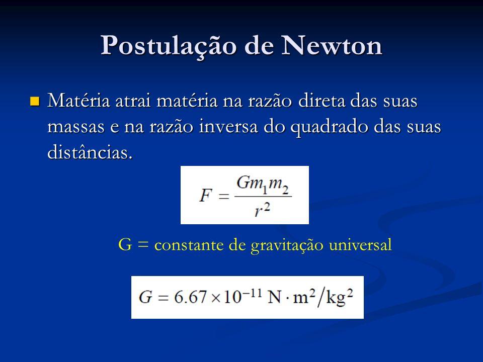 G = constante de gravitação universal