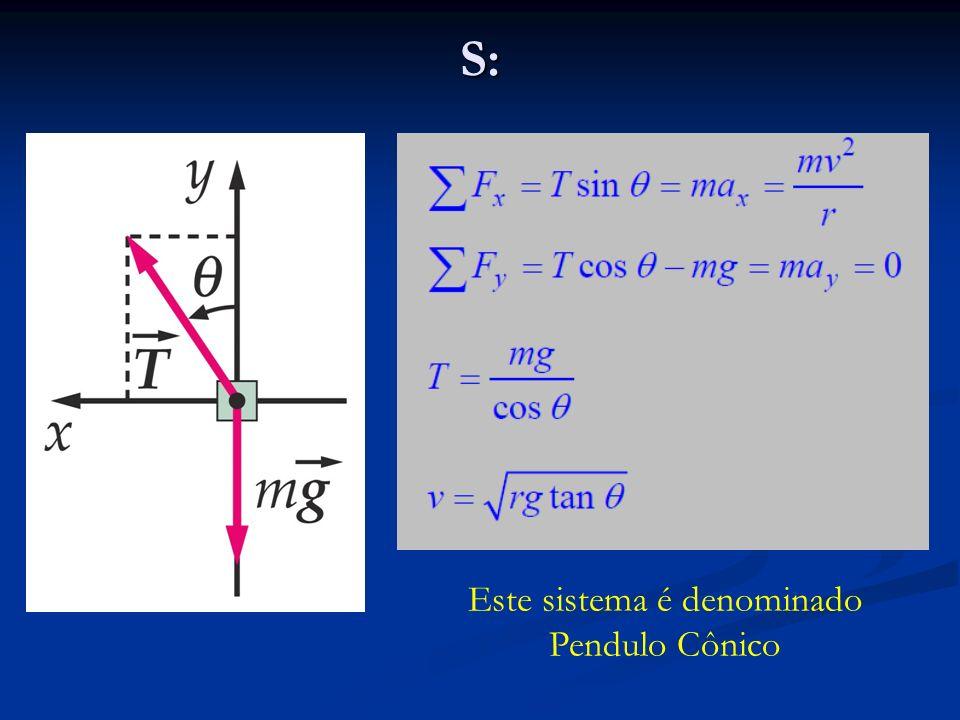 Este sistema é denominado Pendulo Cônico