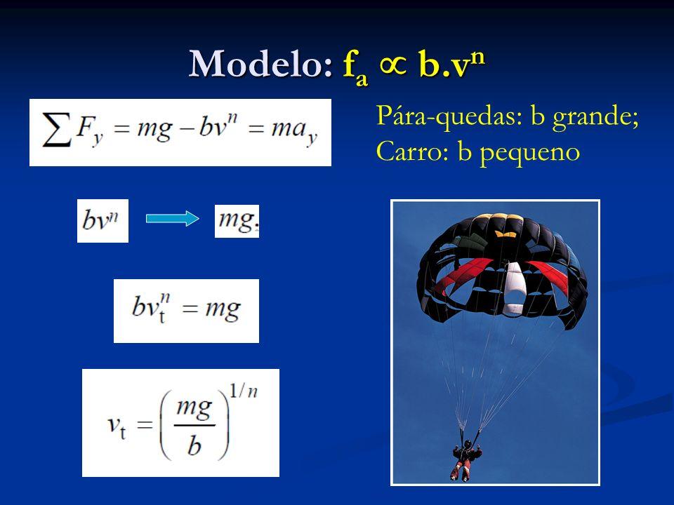 Modelo: fa  b.vn Pára-quedas: b grande; Carro: b pequeno