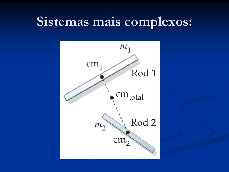 Sistemas mais complexos: