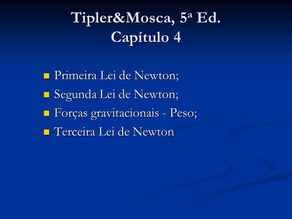 Tipler&Mosca, 5a Ed. Capítulo 4