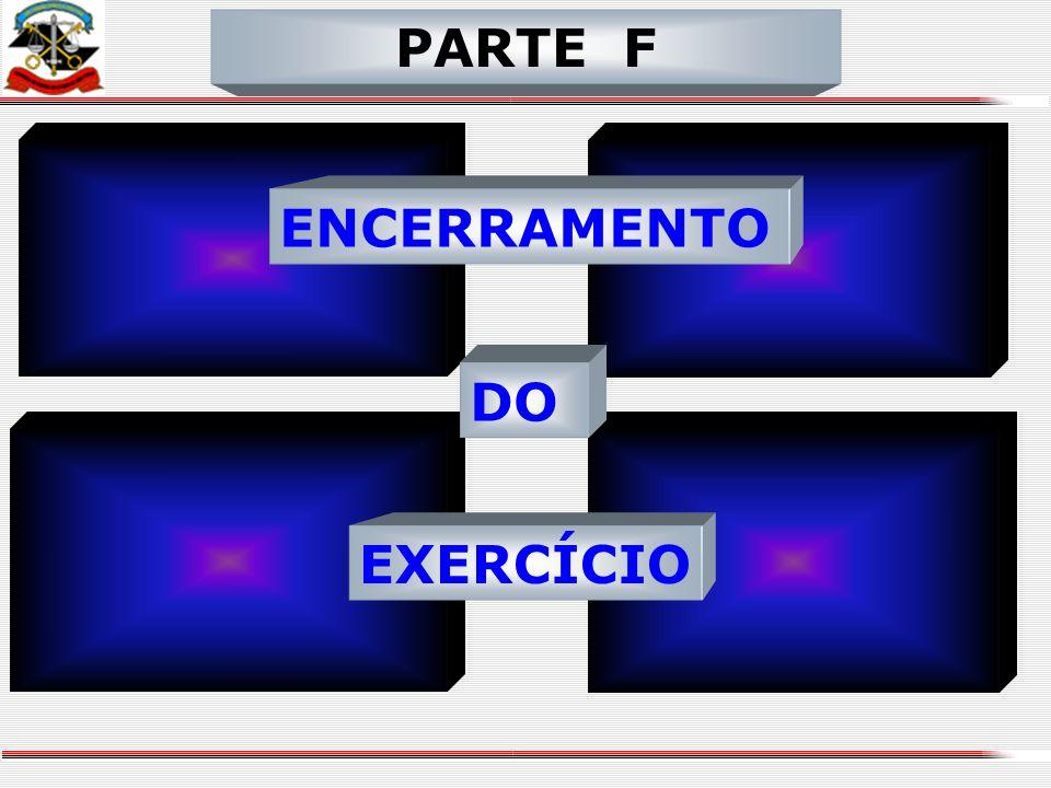 PARTE F ENCERRAMENTO DO EXERCÍCIO