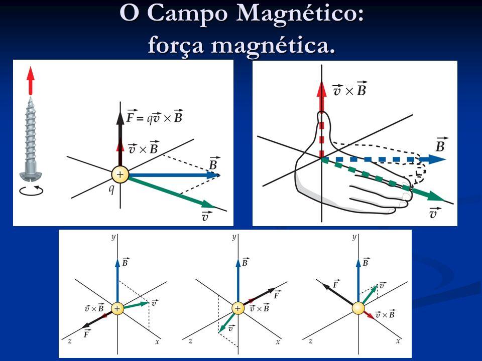 O Campo Magnético: força magnética.