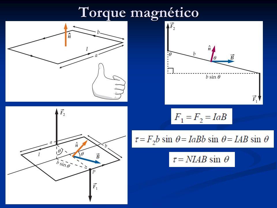 Torque magnético