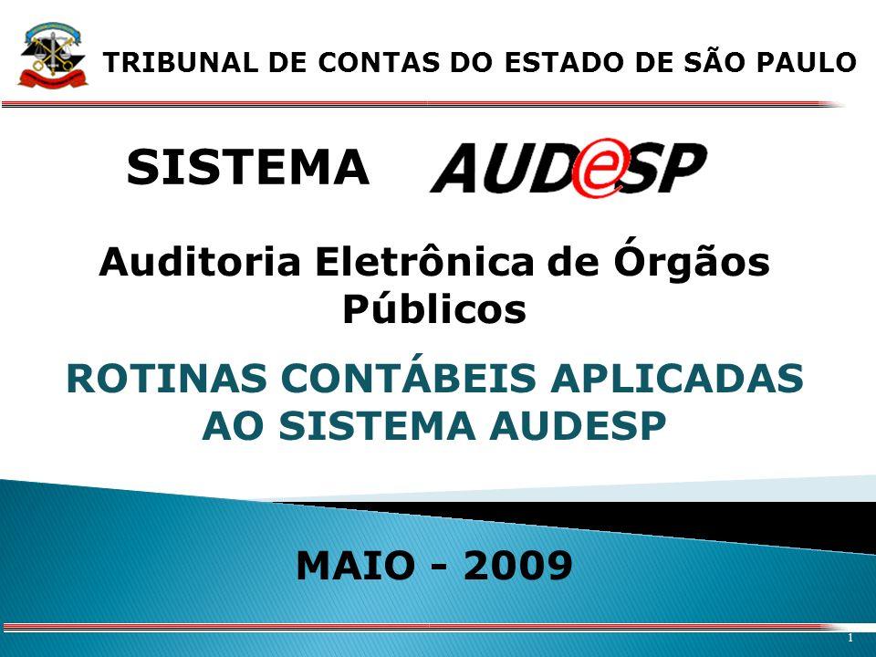 SISTEMA Auditoria Eletrônica de Órgãos Públicos