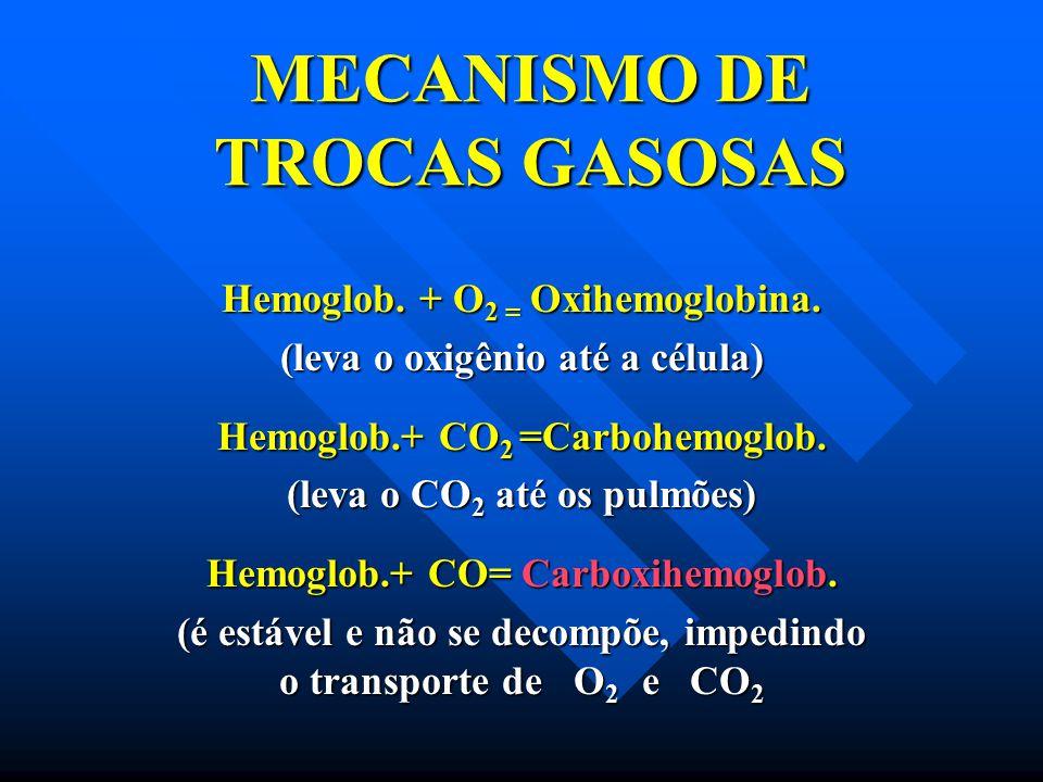 MECANISMO DE TROCAS GASOSAS