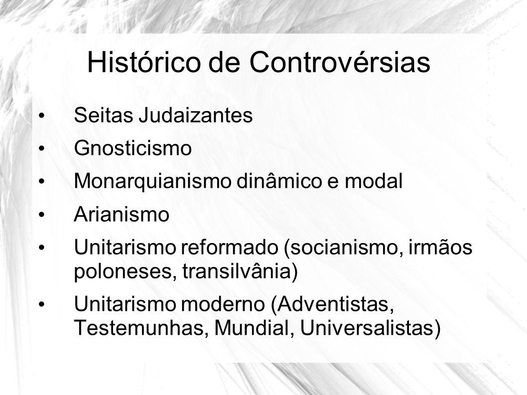 Histórico de Controvérsias