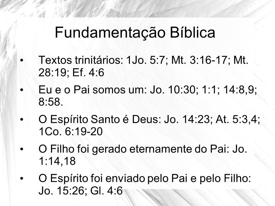 Fundamentação Bíblica