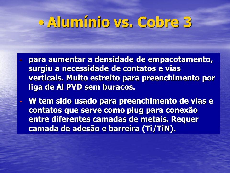 Alumínio vs. Cobre 3