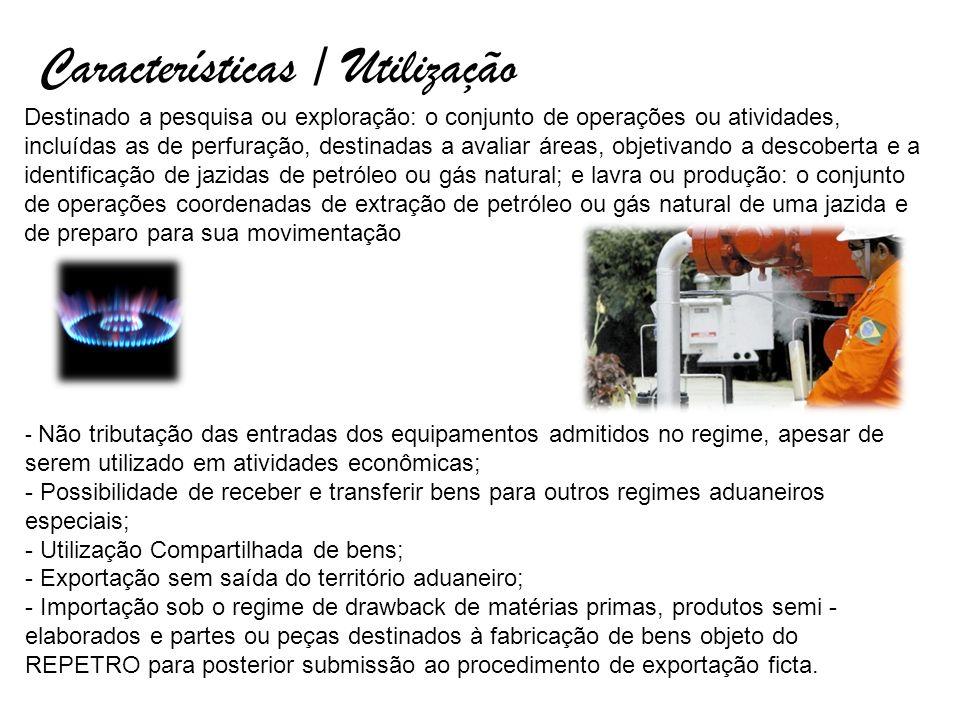 Características / Utilização