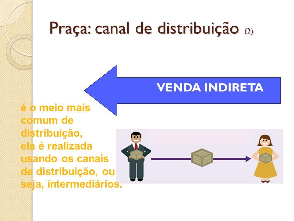 Praça: canal de distribuição (2)