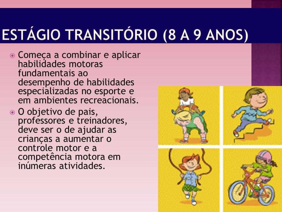 Estágio Transitório (8 a 9 anos)
