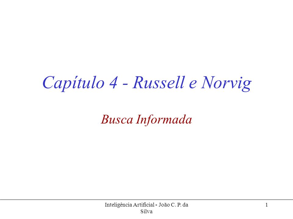 Capítulo 4 - Russell e Norvig