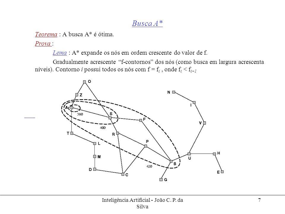 Inteligência Artificial - João C. P. da Silva