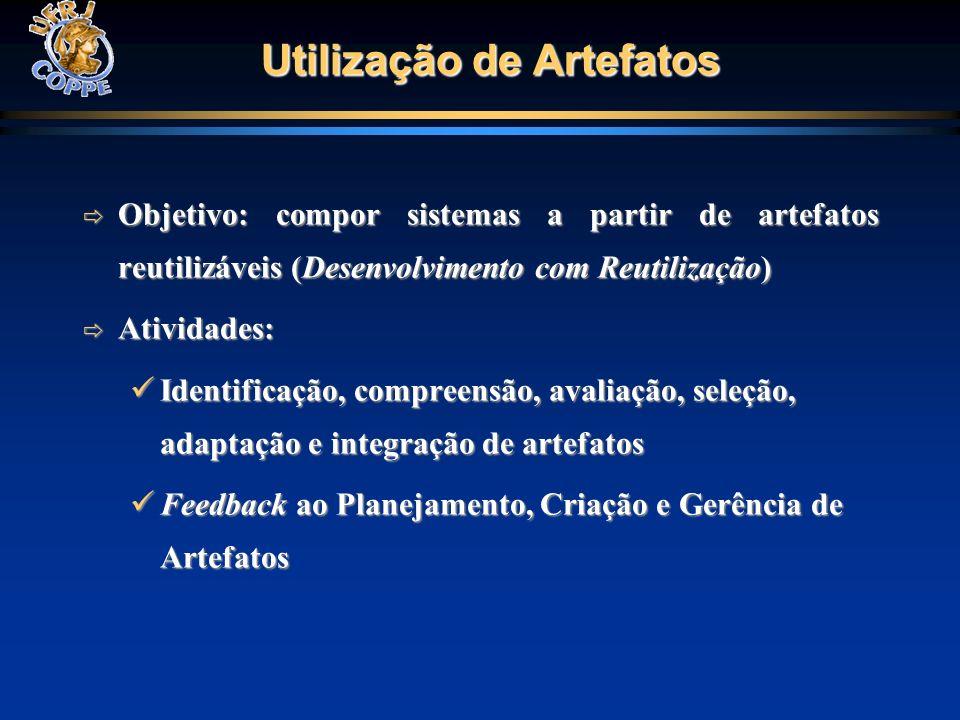 Utilização de Artefatos