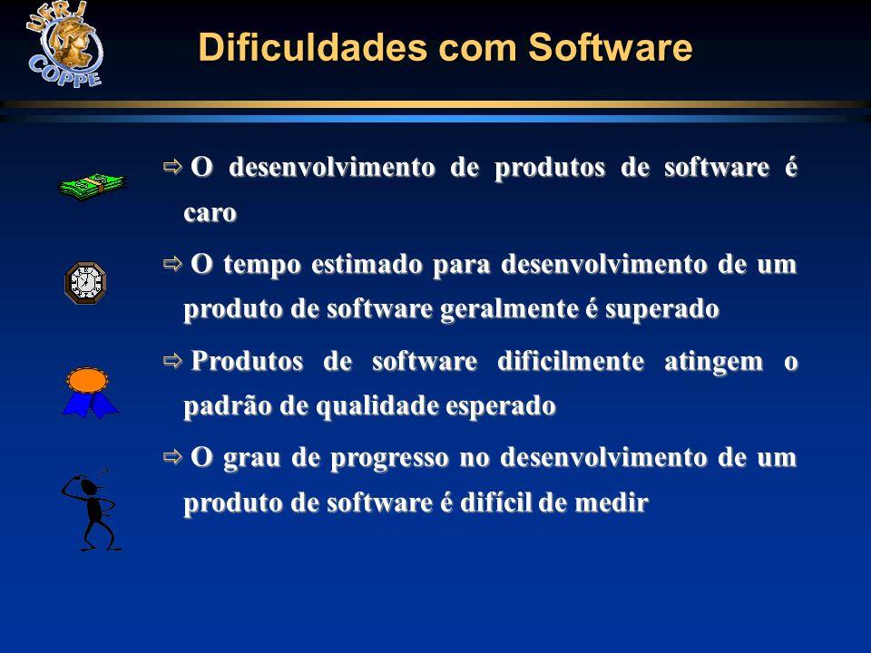Dificuldades com Software