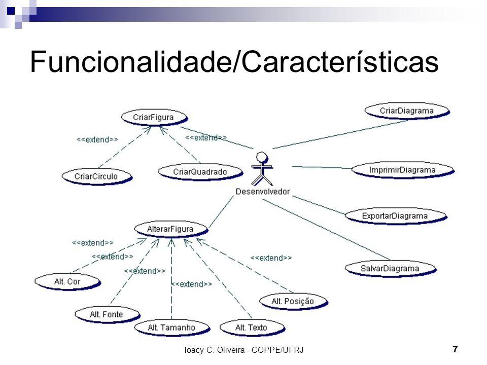 Funcionalidade/Características
