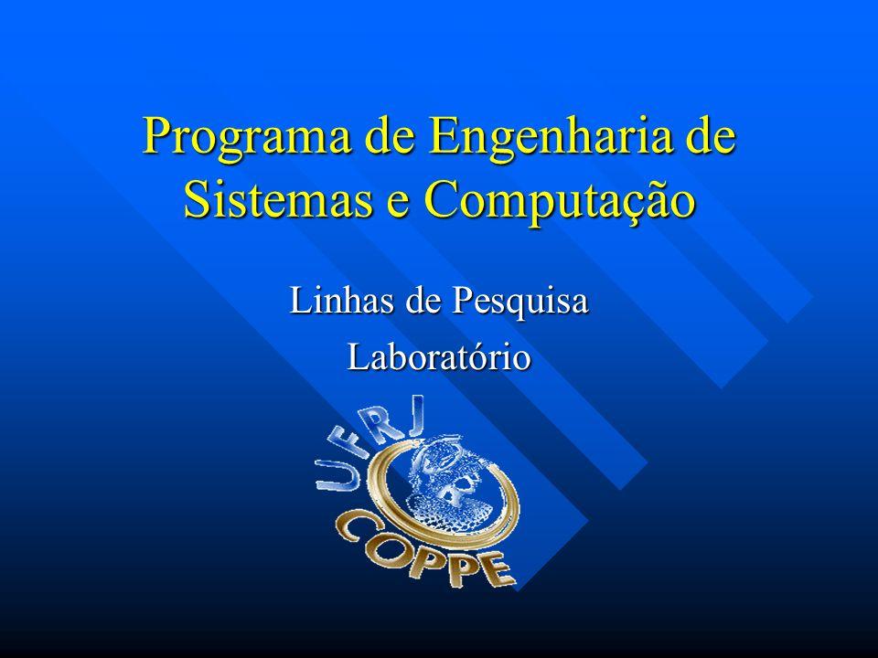 Programa de Engenharia de Sistemas e Computação