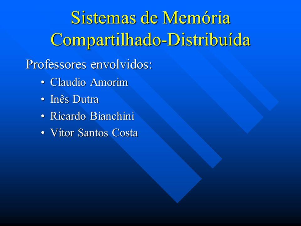 Sistemas de Memória Compartilhado-Distribuída