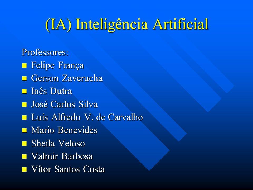 (IA) Inteligência Artificial