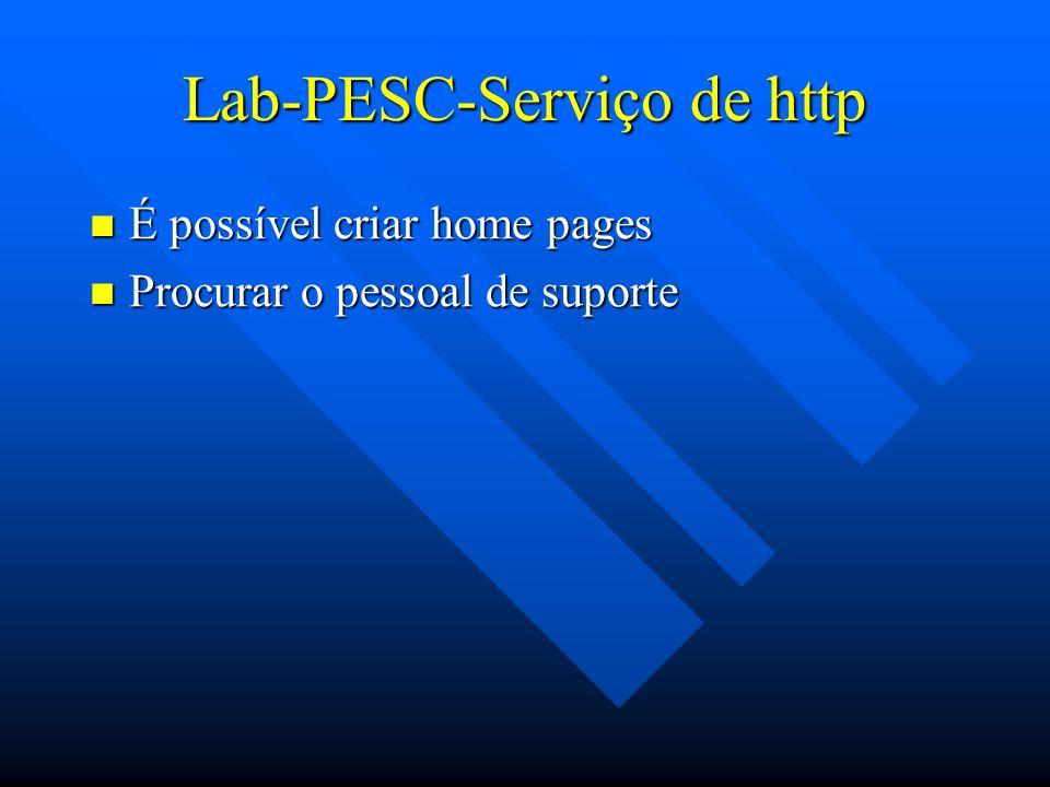 Lab-PESC-Serviço de http