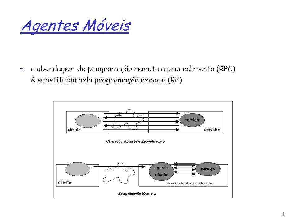 Agentes Móveis a abordagem de programação remota a procedimento (RPC)
