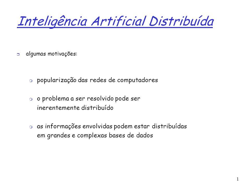 Inteligência Artificial Distribuída
