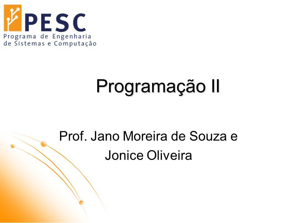 Prof. Jano Moreira de Souza e Jonice Oliveira