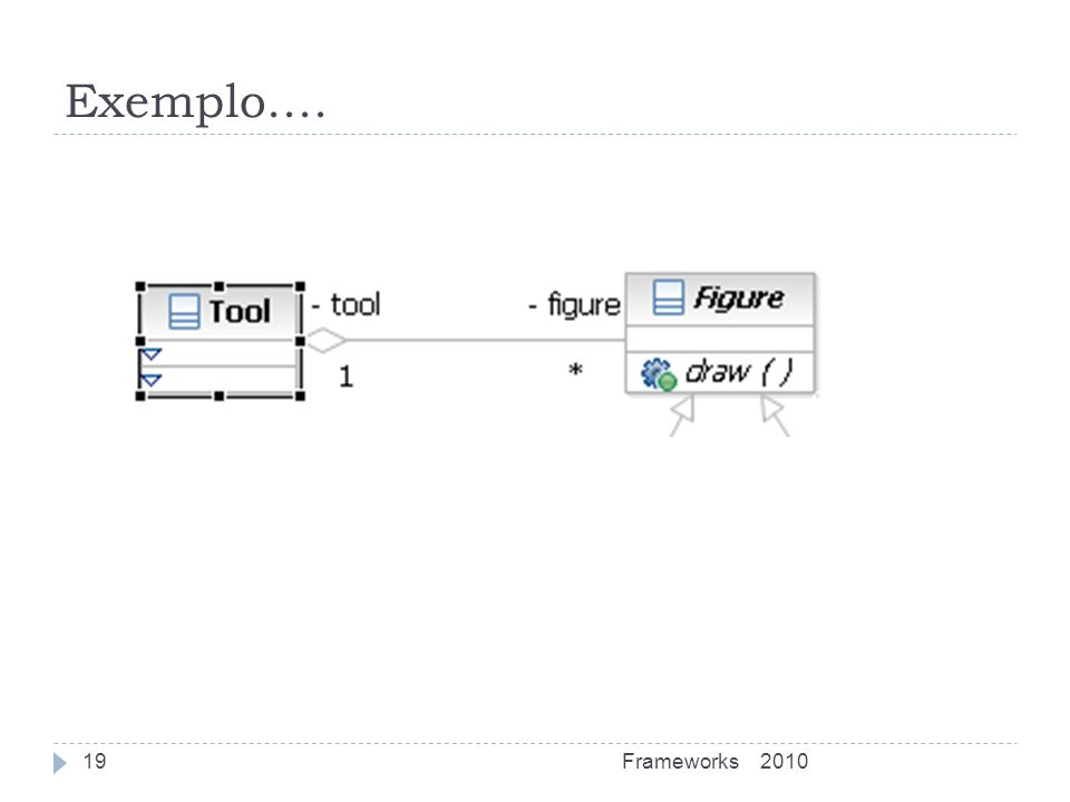 Exemplo.... Frameworks 2010