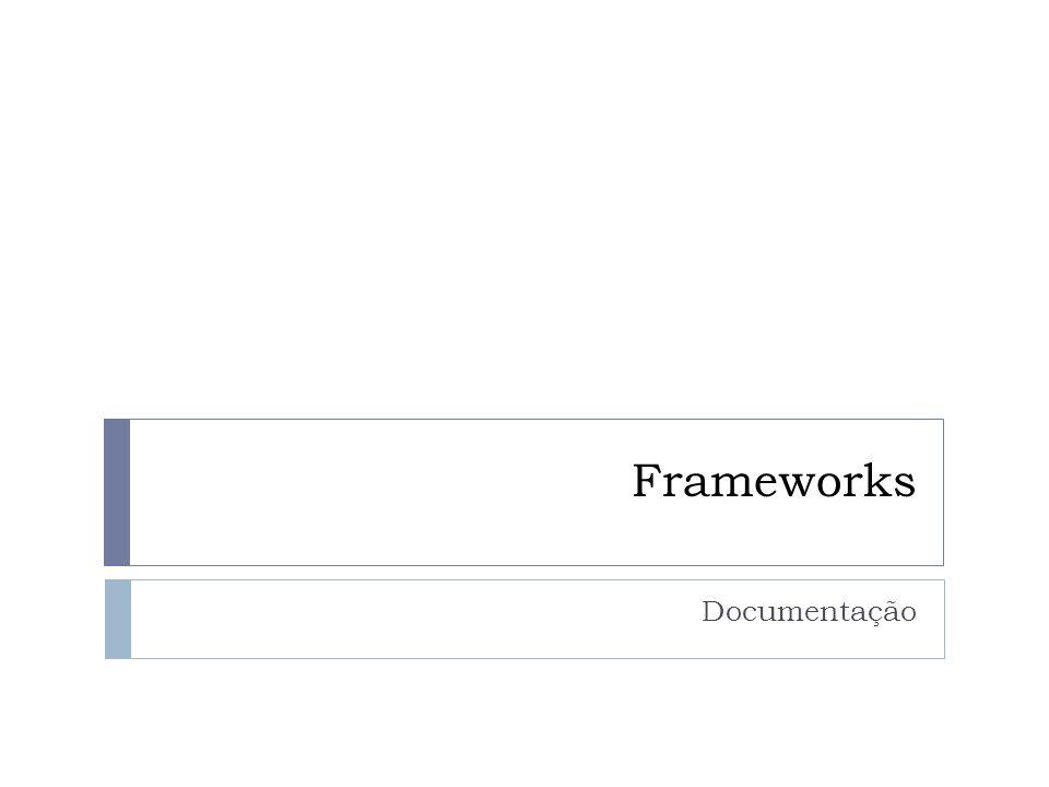 Frameworks Documentação