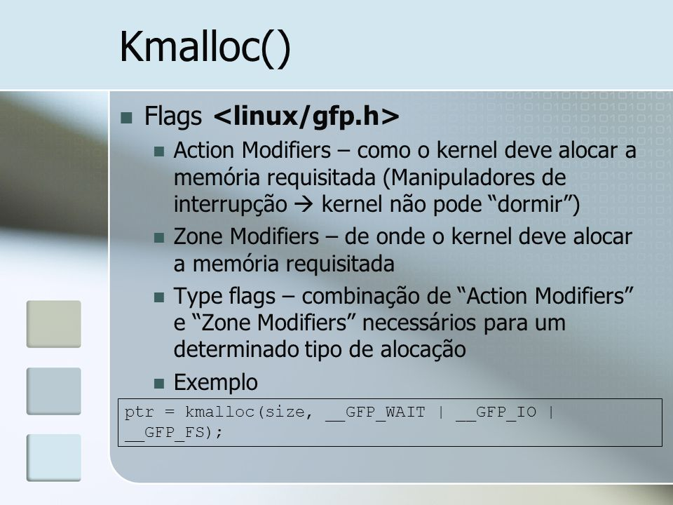Kmalloc() Flags <linux/gfp.h>