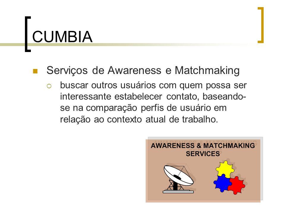 CUMBIA Serviços de Awareness e Matchmaking