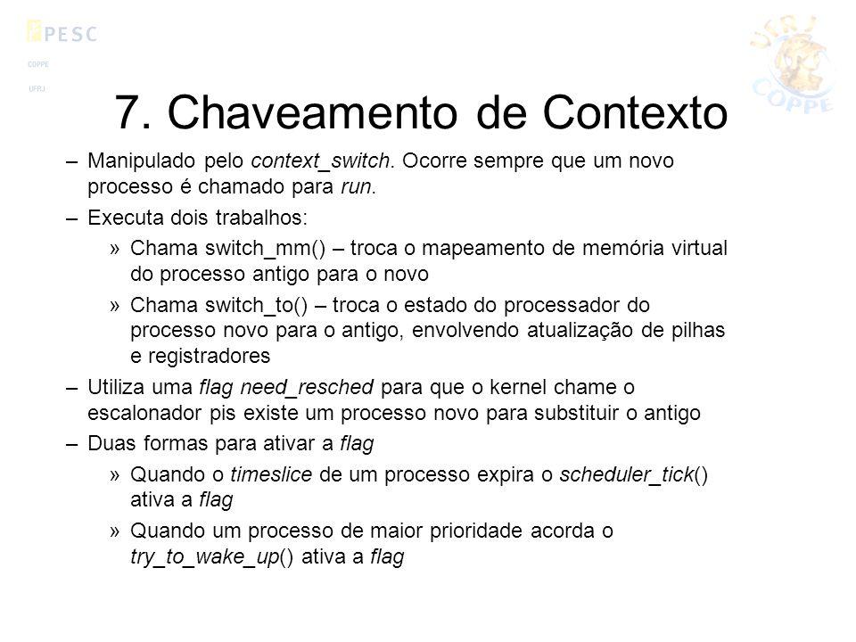 7. Chaveamento de Contexto