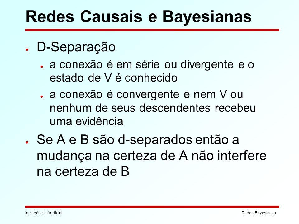 Redes Causais e Bayesianas