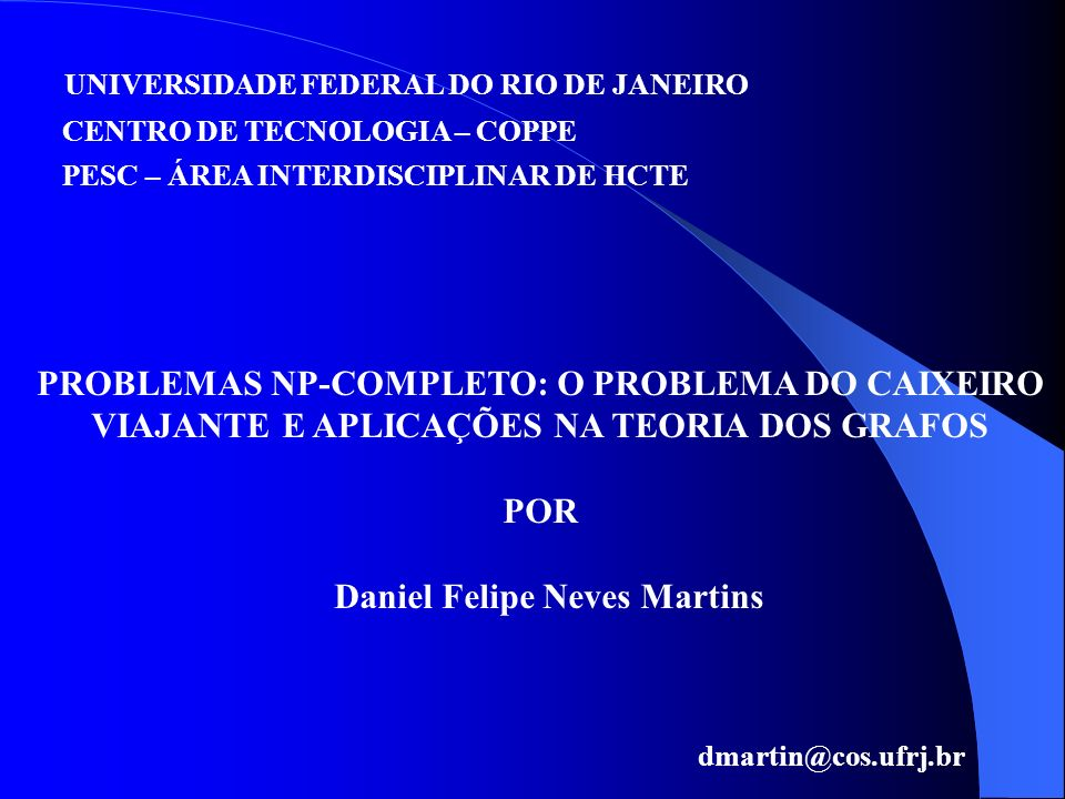 Daniel Felipe Neves Martins