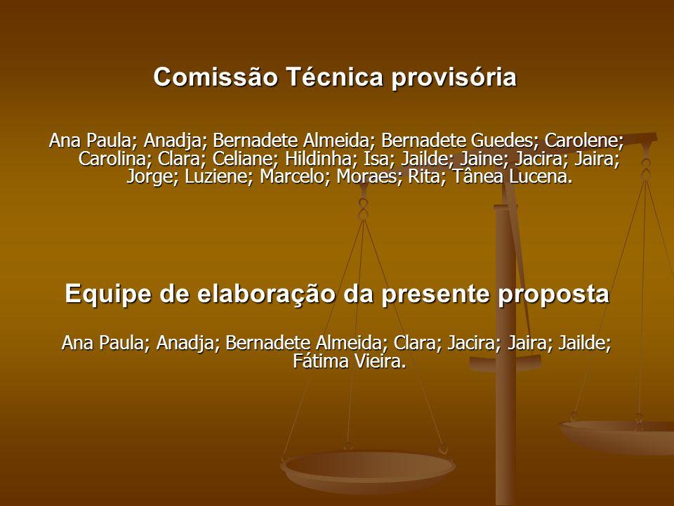 Comissão Técnica provisória