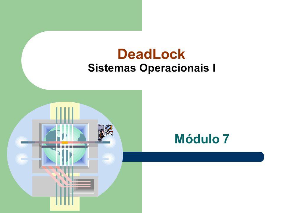 DeadLock Sistemas Operacionais I