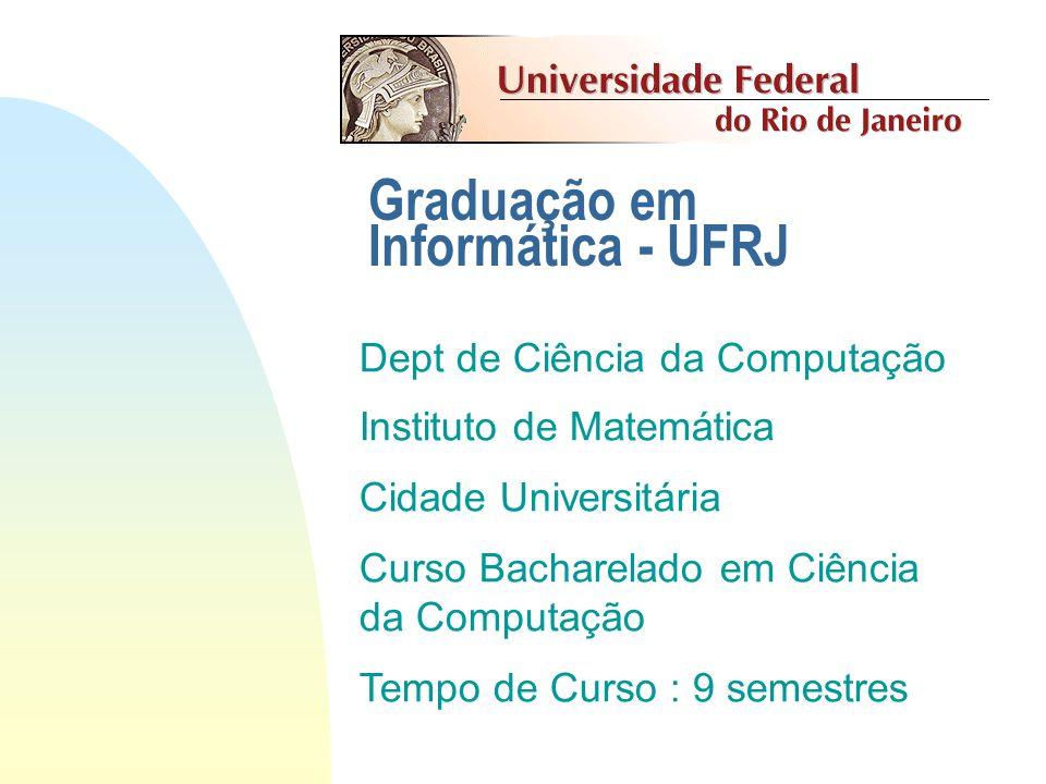 Graduação em Informática - UFRJ