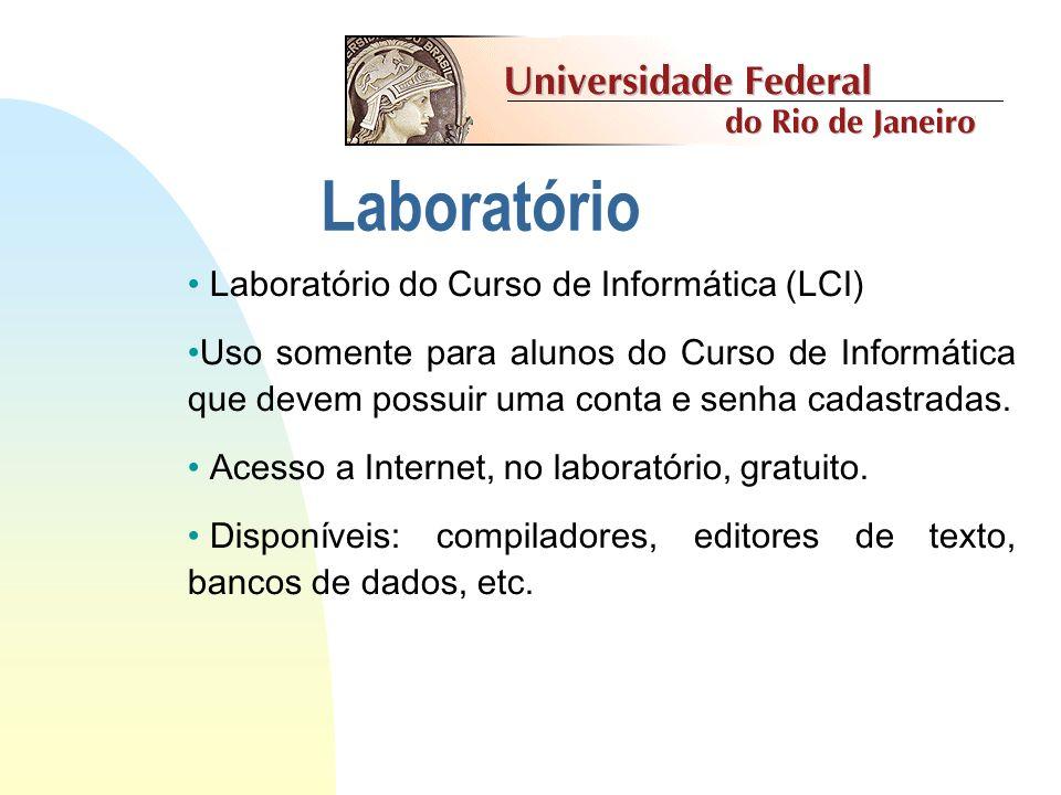 Laboratório Laboratório do Curso de Informática (LCI)