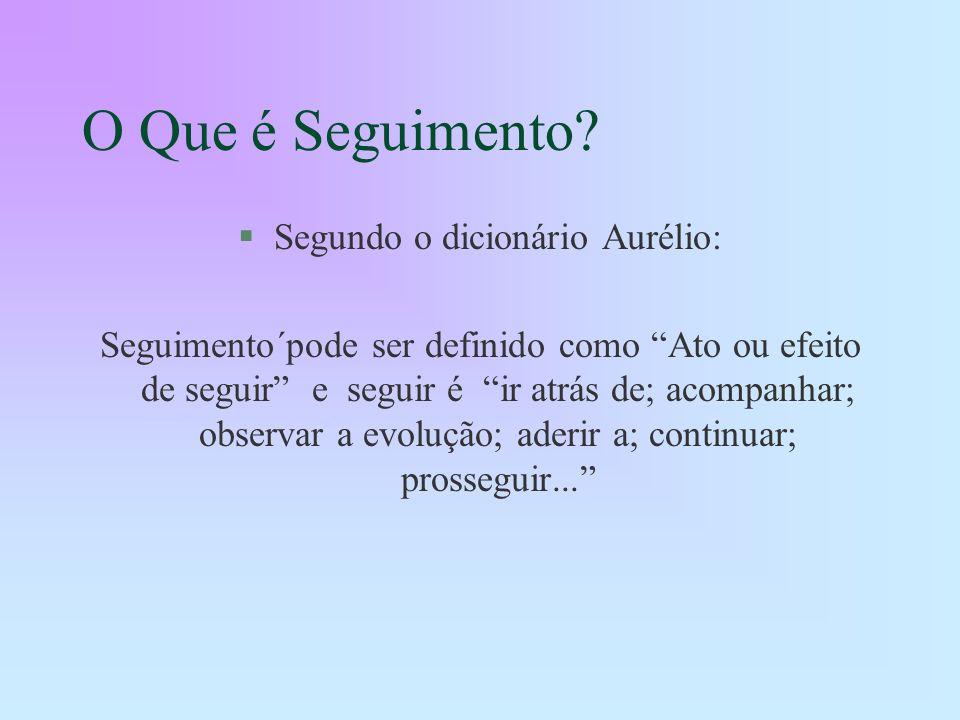 Segundo o dicionário Aurélio: