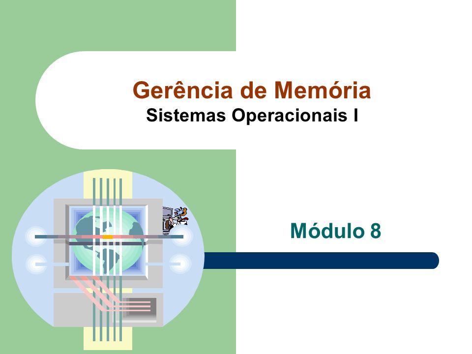 Gerência de Memória Sistemas Operacionais I