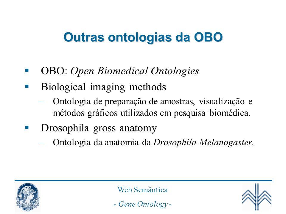 Outras ontologias da OBO