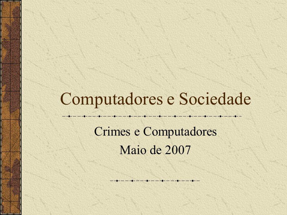 Computadores e Sociedade