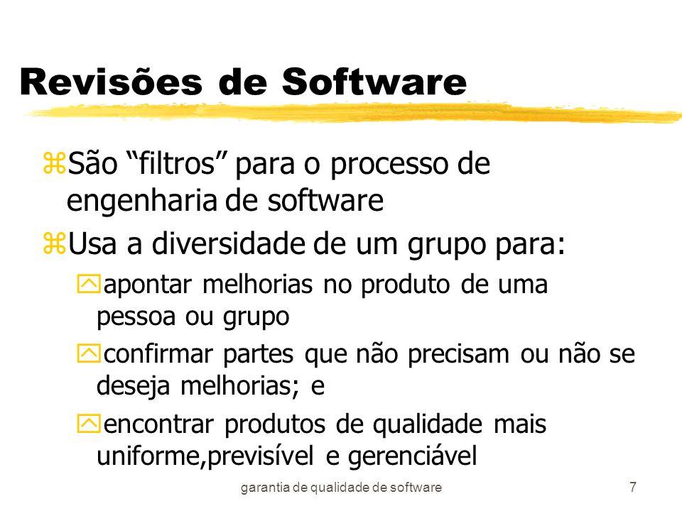 garantia de qualidade de software