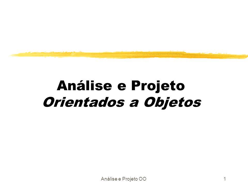 Análise e Projeto Orientados a Objetos