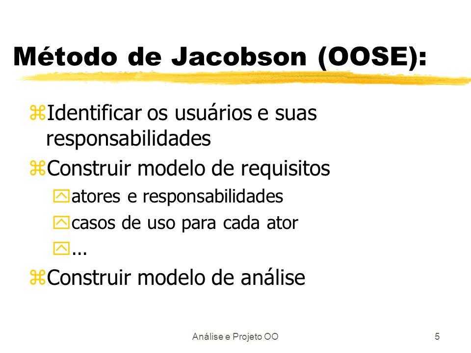 Método de Jacobson (OOSE):