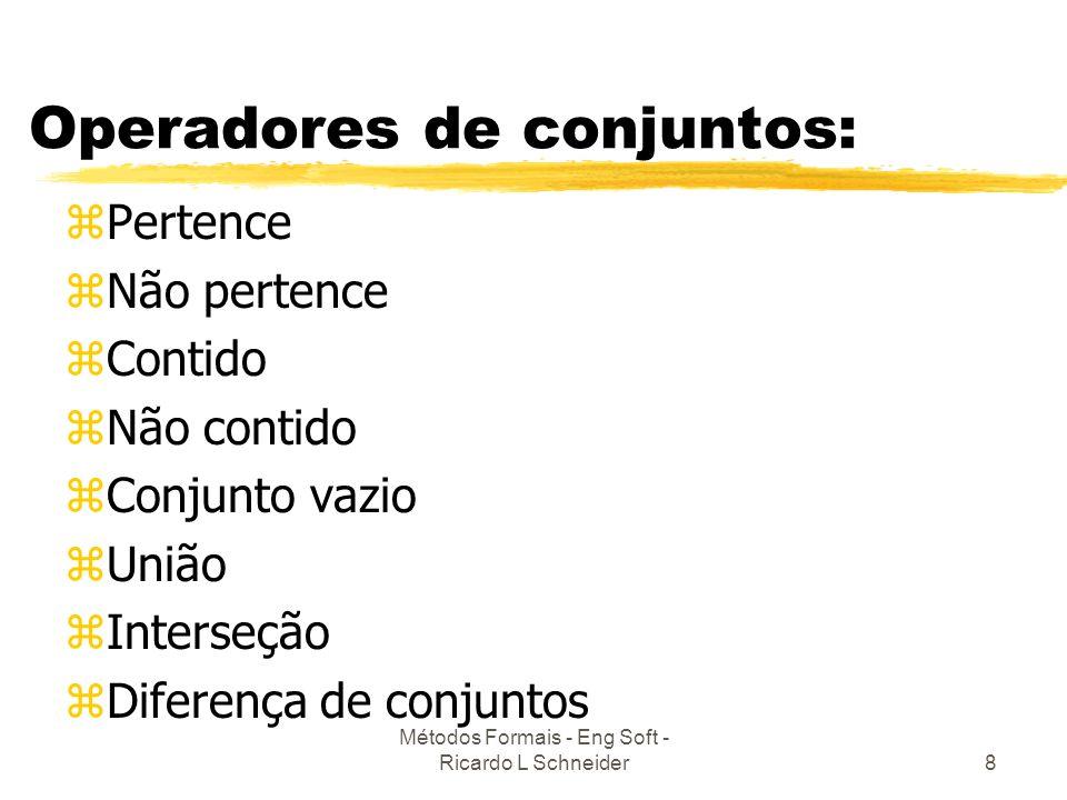 Operadores de conjuntos:
