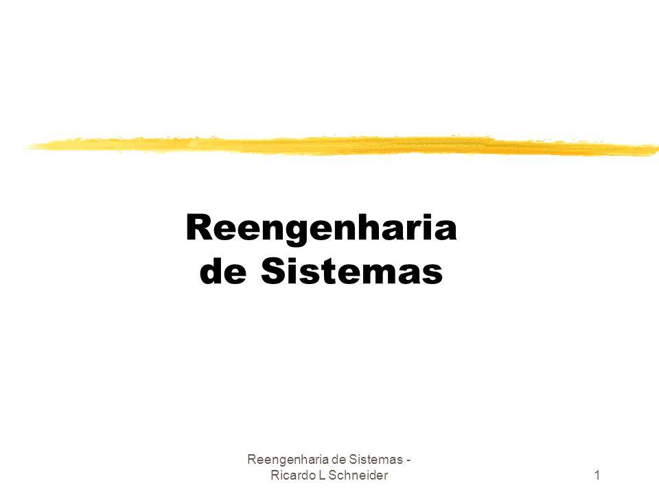Reengenharia de Sistemas