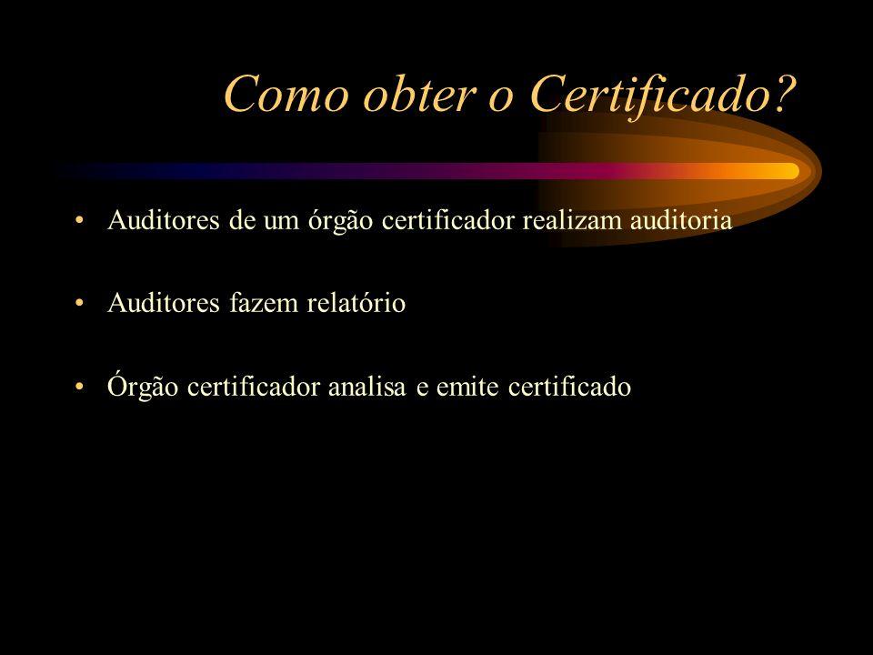 Como obter o Certificado